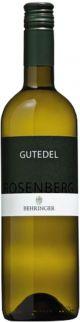 Weingut Behringer Rosenberg Gutedel Qualitätswein trocken